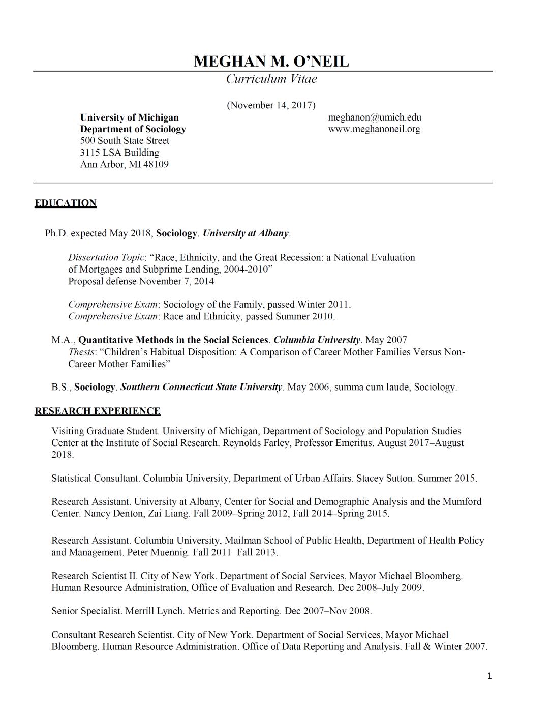 CV 1st pg 11.14.17